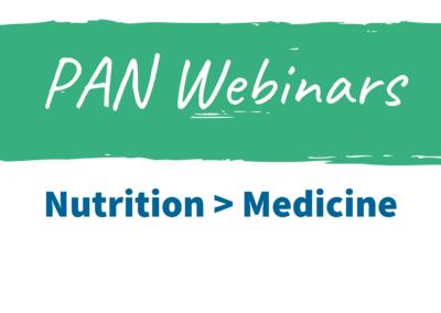Nutrition > Medicine